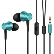 1MORE E1009 Piston 3.5mm In-ear Headphone for Xiaomi iPhone Samsung etc with Remote and Mic - Blue
