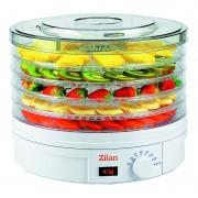 Deshidrator alimente Zilan, 245 W, 5 tavi