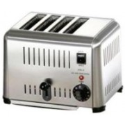 Crescent pop up toaster 220 W Pop Up Toaster(Silver)