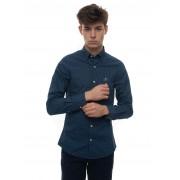 Gant Camicia casual Blu Cotone Uomo