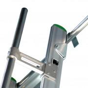 Facal S15/27 Regaleinhängeleiter ohne Traverse Aluminium S600 12 Stufen
