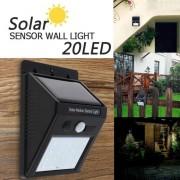 Lampa cu LED MRG solara si senzor de miscare 20LED