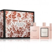 Gucci Bloom lote de regalo I. eau de parfum 100 ml + leche corporal 200 ml + eau de parfum roll-on 7,4 ml