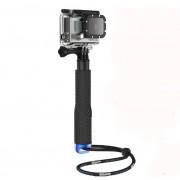 Selfie Stick pentru GoPro, iUni, SJcam GP180, Albastru