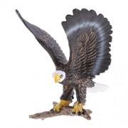 Anbau New Lifelike Nature and Science Animal Model Figurine Action Figures Kids Educational Playset Toy Bald Eagle