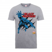Marvel Camiseta Marvel Comics Black Panther - Hombre - Gris - L - Gris