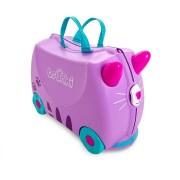 Trunki Valigia cavalcabile per Bambini - Cassie Candy Cat Viola