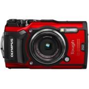 Aparat Foto Digital Olympus Stylus TOUGH TG-5, Filmare 4K, 12MP, Zoom Optic 4x, Rezistent la apa, inghet, soc si praf (Rosu)