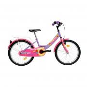 """DHS Dječji bicikl Princess 2002 20"""" Ljubičasta"""