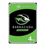 Seagate Barracuda ST1000DM010 Interne harde schijf 1 TB, 8,9 cm (3,5 inch), cache geheugen 64 MB, SATA, snelheid 7200 rpm 4 TB