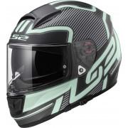 LS2 Vector FF397 Orion Helmet Black Green 3XL