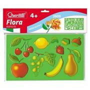 Set creativ pentru copii Sabloane Flora Quercetti