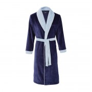 Boss Home - Kimono Coton Peigné 420 g/m² Navy S - Lord