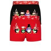 Vánoční edice - boxerky s vánočním potiskem XL MIX