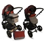 BBO Kolica za bebe MATRIX 2U1 crvena (CR0014)