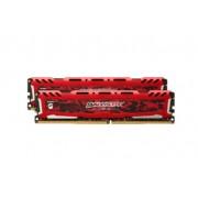 Crucial Ballistix Sport LT 16GB (2 x 8GB) DDR4-2400 16GB DDR4 2400MHz memory module