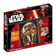 Pixel Art Star Wars C-3PO Quercetti, 14800 piese, 9 ani+