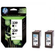 HP Tinteiro DJ 5740/5940/6540 (C9504E) Nº339 Preto (2xC8767E)