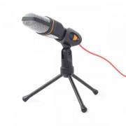 Gembird Desktop microphone with a tripod, black GEM-MIC-D-03