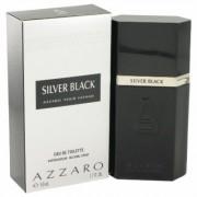 Silver Black For Men By Azzaro Eau De Toilette Spray 1.7 Oz