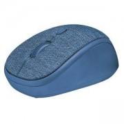 Безжична мишка TRUST Yvi Fabric Wireless, (800/1600 DPI), син, 22629