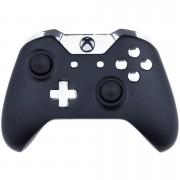 Custom Controllers Xbox One Controller - Matte Black & Chrome Silver