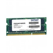 Memorie notebook Patriot 4GB, DDR3, 1600MHz, CL11, 1.5v