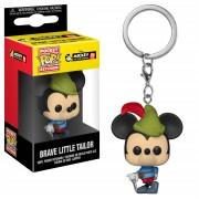 Pop! Keychain Disney Mickey's 90th Brave Little Tailor Pop! Vinyl Keychain