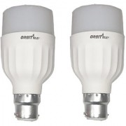 LED Bulb Pack of 2 Orbit 12 Watt White Bullet Series LED Bulb B22 Cap