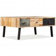 vidaXL Coffee Table Solid Reclaimed Teak 90x65x40 cm