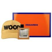Dsquared2 He Wood /мъжки комплект/ Set - edt 50 ml + Шапка