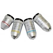 Obiectiv semiplan pentru microscop (10x, 160mm)