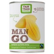 Mango schijven op sap