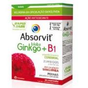 Absorvit Ginkgo Biloba + B1 Comprimidos