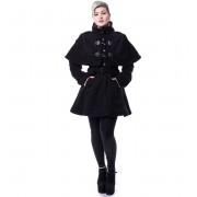 kabát dámský Poizen Industries - GHOST TOWN - BLACK - POI420