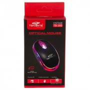 Terabyte 3D Optical Wired USB Mouse in Black