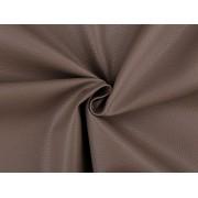 Ekobőr anyag táskákhoz, dekorációkhoz, 140cm/0.5m, barna, 380735-11