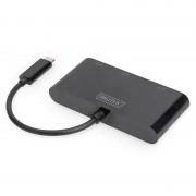 Digitus Adaptador USB-C para VGA/HDMI/DisplayPort