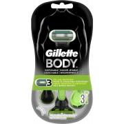 Gillette Body Scheermesjes Wegwerp 3 stuks