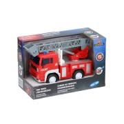 Merkloos Brandweerwagen speelgoed 18 x 10 x 11 cm