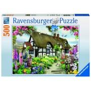 Ravensburger puzzle cabana, 500 piese