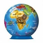 Puzzle 3D Globul pamantesc 72 Piese