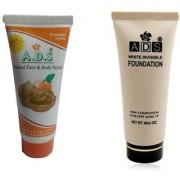 ADS White invisible foundation with premium scrub