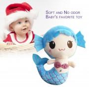 EH Peluches Regalo Para Bebé Niños Niñas Niños Cute Adorable Muñeco De Sirena - Azul