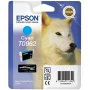 Epson Originale Stylus Photo R 2880 Cartuccia stampante (T0962 / C 13 T 09624010) ciano, 1,505 pagine, 0.75 cent per pagina, Contenuto: 11 ml