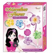 JGG Jain Gift Gallery Marvellous Flowers (Big) For Girls To Create And Decorate Hair Accessories For Parties/Occasion