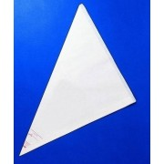 Sacchetto decorazione in plastica trasparente a strappo monouso Lunghezza cm 53 Confezione da 100 pezzi Modello 506-021