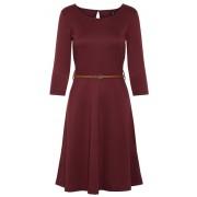 Vero Moda Rochie pentru femei VMVIGGA FLAIR 3/4 SLEEVE DRESS Port Royale XL