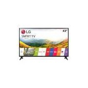 Smart TV LED 43 LG Full HD 43LJ5550 Wi-Fi Painel IPS WebOS 3.5 Magic Zoom 2 HDMI 1 USB Time Machine Ready Quic Access