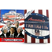 Fifty States and 44 Presidents, United State, Playing Cards, Historical and Educational, Two Deck Set